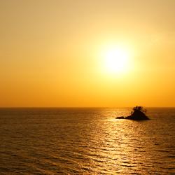 松島の夕陽イメージ